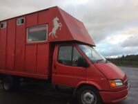 3.5T Ford Transit Horse Truck