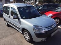 2008/08 PEUGEOT PARTNER COMBI 1.4 WITH WHEEL CHAIR ACCESS/RAMP,LOW MILEAGE,EXCELLENT CONDITION