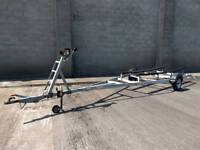 Galvanised bunked trailer is in great condition. To suit RIB, Fishing boat etc