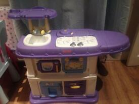 Fisher price child's plastic play kitchen