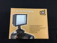 BNIB LED Photography Lamp with Slide-In Coloured Filters