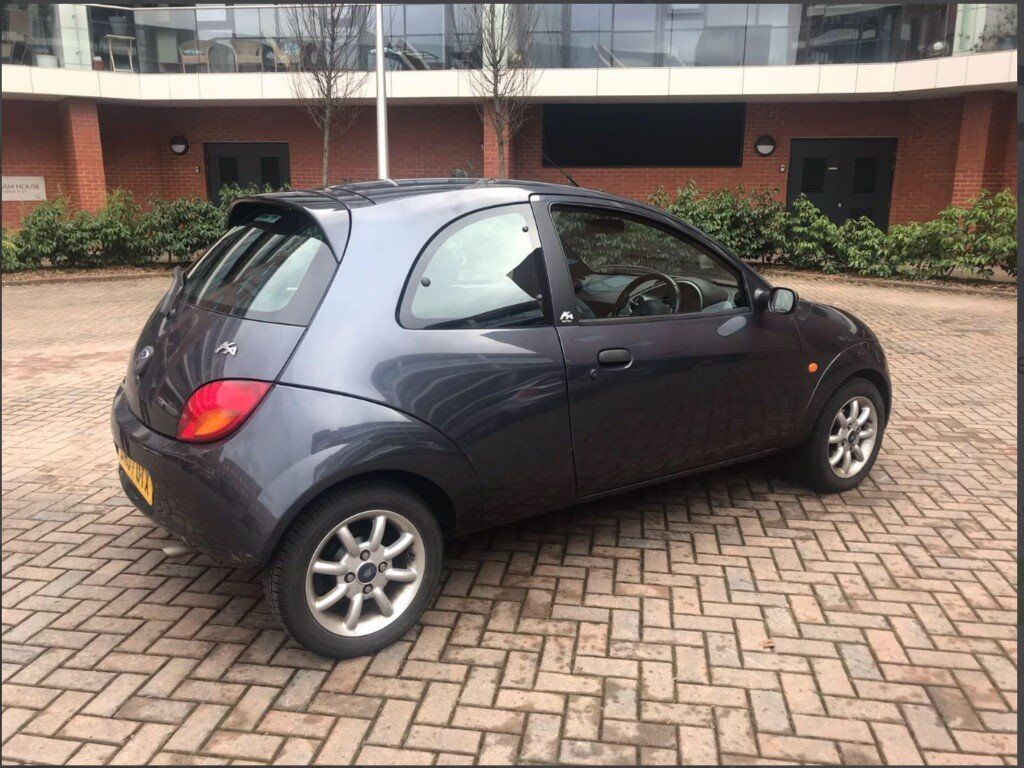 Ford Ka Zetec Climate Grey 40 000 Miles 2007 In