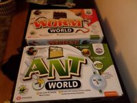 ant and worm world new never opened