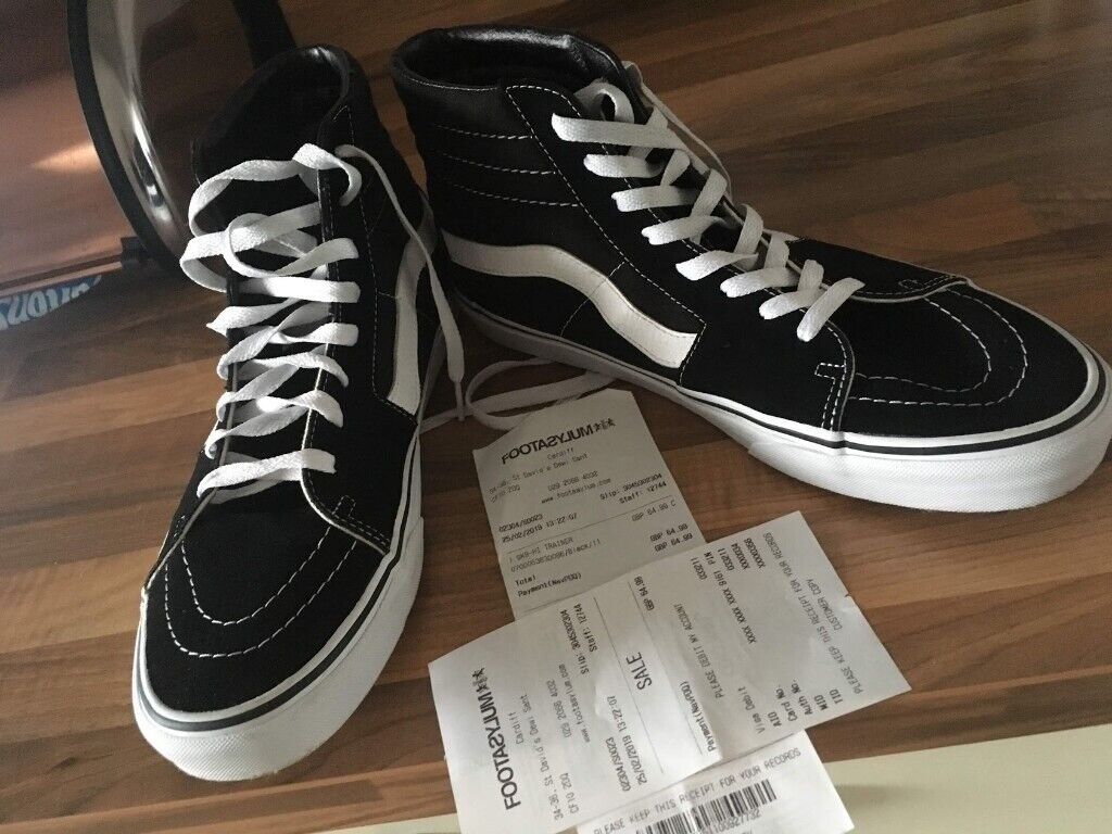 fc56a9d442 Vans basketball trainers - size 11 worn once