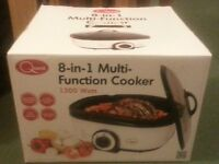 Brand New 8 in 1 Multi Cooker