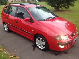53k miles,1 lady owner,full main dealer history,Mitsubishi space star 1.8s.immaculate inside and out