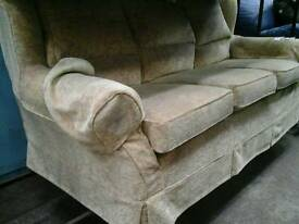 Light patterned 3 seater sofa