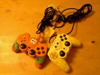 Spongebob and Rare Patrick Controllers