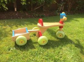 Wooden ELC Trike