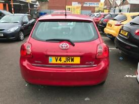 Toyota Auris 1.6 Private Reg included 07 reg