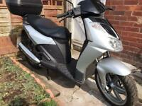 Aprilia sportcity 125 only 1 previous owner swap 50cc