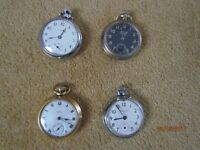 serviced pocket watches