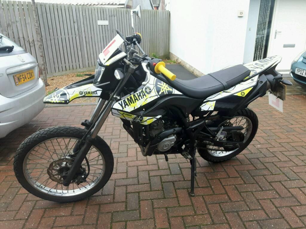 Yamaha Wr125 Wr 125 Road Legal Trail Bike 12 Months Mot Excellent