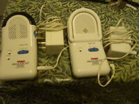 Tomy walk about baby monitor
