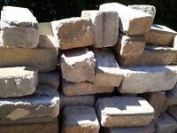 30 - 40 Limestone Bricks