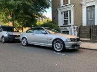 BMW 3 SERIES 318 COUPE 2001 (TITAN SILVER) E46 LONG MOT
