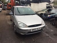 2002 Ford Focus LX 1.4L Petrol 5dr Hatchback Silver BREAKING FOR SPARES