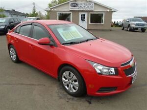 2014 Chevrolet Cruze 1LT AUTO AIR PW PL CRUISE ONLY 10,000 kms