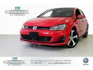 2016 Volkswagen GTI PERFORMANCE  220HP! JAMAIS ACCIDENTE!