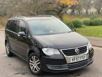 2008(57)Volkswagen Touran 2.0 TDI SE DSG 7 Seater Full Service History +Not Ford VW Seat Audi