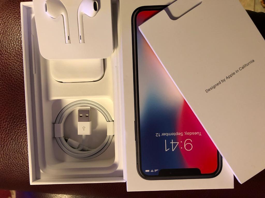 promo code f0ef8 342c4 Apple iPhone X Box and Accessories | in Craigmillar, Edinburgh | Gumtree