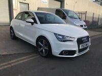 Audi A1 2011 1.4 TFSI Sport Auto S Tronic 3dr White **12 Months MOT, 3 Month Warranty**