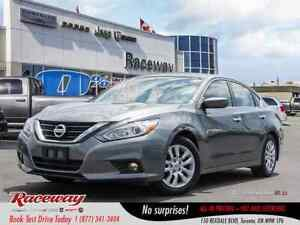 2018 Nissan Altima 2.5 S - Htd Seats, Media Screen, Back Up Cam,