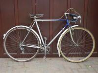 Vintage 1960s Raleigh Blue Streak Bicycle