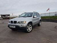 2002 / 52 BMW X5 D Sport 4x4 Automatic 3.0 Diesel 5 Door - MOT November 2018 - 103300 Miles