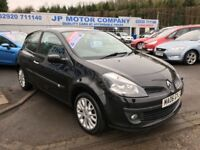 2006 RENAULT CLIO DYNAMIQUE BLACK TOP SPECIFICATION PANORAMIC ROOF LOW MILEAGE RECENT TIMING BELT