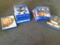 Blue rays x11 DVD's