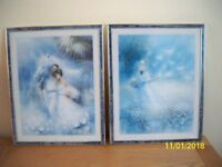 Framed Prints by S. Rachelle x 2.