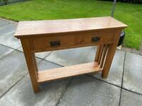 Solid Oak Wood / Furniture Table