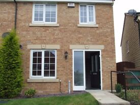 3 bedroomed modern townhouse for rent in Wakefield close to Pinderfields Hospital