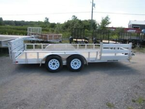 2017 Stronghaul All Aluminum 16' ATV Utility Trailer Order Yours