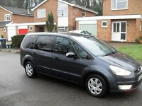 1 OWNER FORD GALAXY 2009 NEW SHAPE 1.8 TDCI 7 SEATER NEVER BEEN A MINICAB