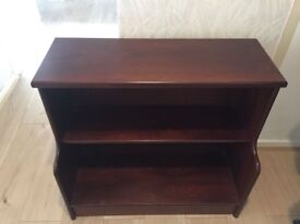 Beautiful book case/shoe rack solid wood tables