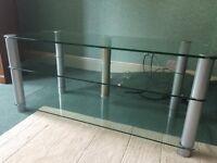 Large plasma/LDC TV stand