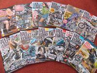 """1yr 2017 of MOTORBIKE MAGAZINES, 12 """"BIKE STREET HEROES"""""""