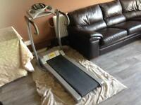 Running machine electric treadmill powerteck BARGAIN