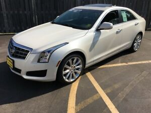 2013 Cadillac ATS Luxury, Automatic, Sunroof, Bluetooth, AWD