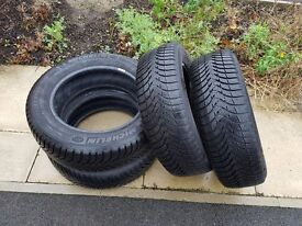 Set of Used Tyres