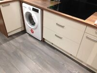Unused kitchen units, worktop & kickboards