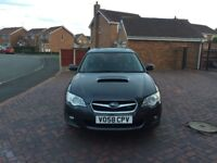 Subaru Legacy sat nav heated leather bluetooth 2008