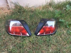 Vauxhall Astra H 3dr Rear Light Clusters