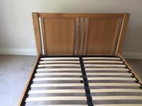 Bed Frame King Size Oak