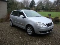 VW POLO 1.4 Match 5dr Excellent condition Extras include full size spare wheel ,mat set