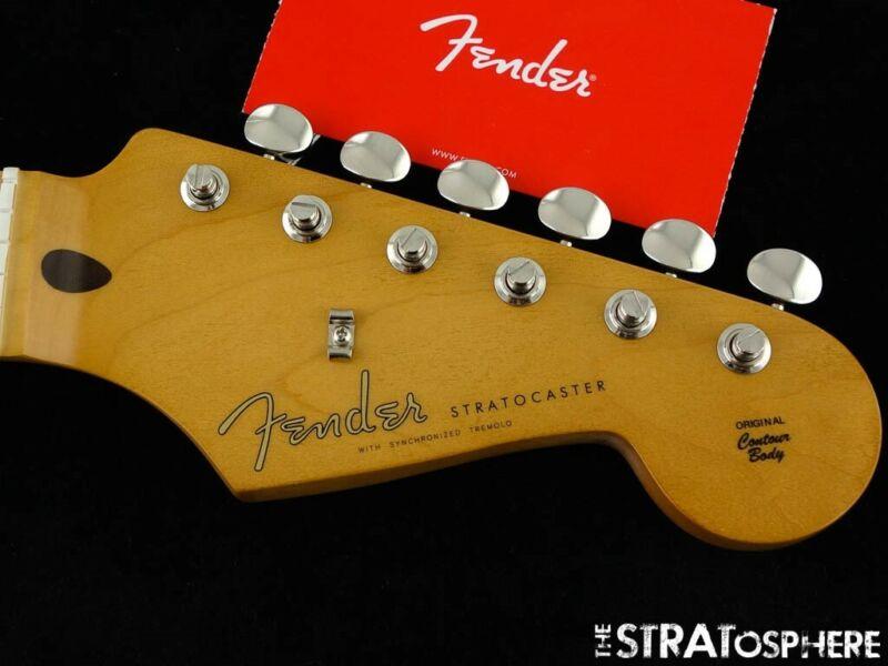 "Fender Vintera 50s Stratocaster Strat Modified NECK + TUNERS ""C"" Maple"