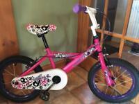 Girls bike age 5-7 - £70 ono