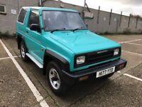 Daihatsu Sportrak 4x4 - 22,000 miles - 12 months MOT - outstanding condition
